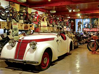 Tovární muzeum JAWA Konopiště